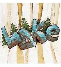 'Lake' Wall Decor Sign #AFEQ0141