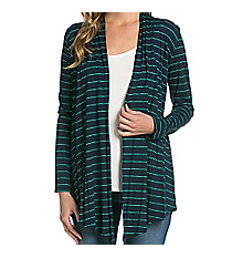 Leave it to Stripes Cardigan, Navy #AJK-2057RS-A01 *Choose Your Size