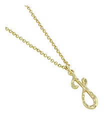 "Goldtone ""J"" Initial Necklace #AN0488-GJ"