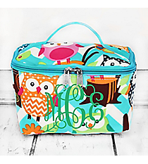 Aqua Chevron Owl Party Case #AQL277-AQUA