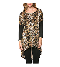 On The Wild Side Hi-Lo Tunic #ATP-2232RS-A09 *Choose Your Size