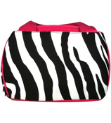 Zebra Insulated Bowler Style Lunch Bag #ZEB255-H/PINK