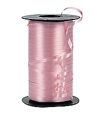 1 Roll Pink Curling Ribbon #B102