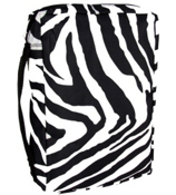 Mega Zebra with Black Trim Bible Cover #G-2007