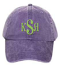 Washed Purple Baseball Cap