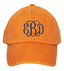 Washed Tangerine Baseball Cap