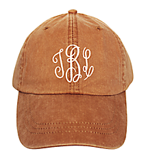 Washed Terra Cotta Baseball Cap