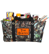 BNB Natural Camo Collapsible Haul-It-All Utility Basket #SN401-BLACK