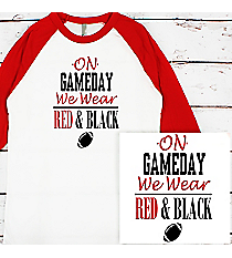 Gameday 3/4 Sleeve Raglan Tee #BB453 *Personalize Your Team Colors