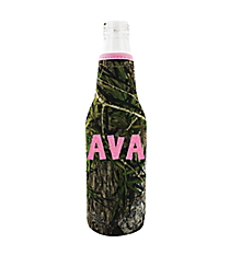 Mossy Oak with Pink Trim Bottle Cozy #BCOZ-MOP