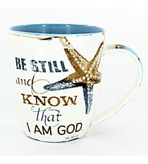 Psalm 46:10 Starfish Mug #MUG383