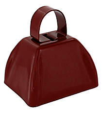 One Burgundy Cowbell #47/5982-A