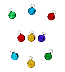 150 Jingle Bell Charms #48/3778