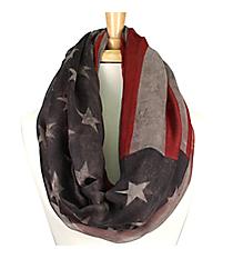 Vintage American Flag Infinity Scarf #EASC8092-GE