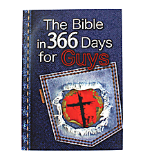 """""""The Bible in 366 Days for Guys"""" Book #KDS450"""