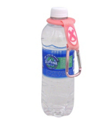 One Clip-N-Go Pink Ribbon Hands-Free Water Carrier #BCA-WBTL