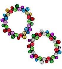 One Jingle Bell Stretch Bracelet #P-BRAC-BL-SHIPS ASSORTED