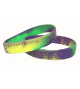 "One Dozen ""HE LIVES!"" Bracelets #36/1470"
