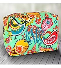 Paisley Chick Cosmetic Case #BRQ613-H/PINK