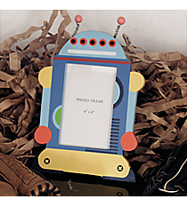 "10"" x 7.5"" Die-Cut Robot 4"" x 6"" Photo Frame #BSDM0033"