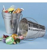 One Dozen Galvanized Buckets #3/1377