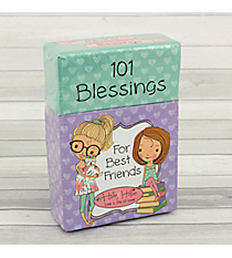 "Holly & Hope ""101 Blessings For Best Friends"" Promise Cards #BX092"