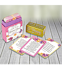 """""""101 Blessings For You"""" Promise Cards #BX095"""