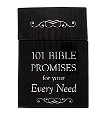 """101 Bible Promises for your Every Need"" Promise Cards #BX076"