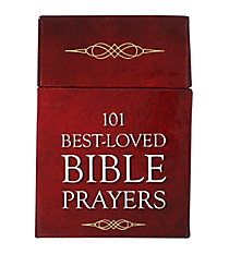 """101 Best-Loved Bible Prayers"" Promise Cards #BX077"