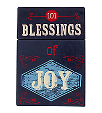 """101 Blessings of Joy"" Promise Cards #BX080"