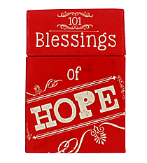 """101 Blessings of Hope"" Promise Cards #BX081"