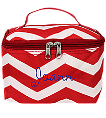 Red and White Chevron Case #008-165-R/W