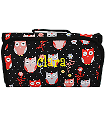 Hoot-Winked Roll Up Cosmetic Bag #CB-1321
