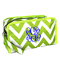Light Green Chevron Travel Bag #CB10-601-LG