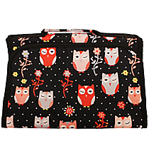 Hoot-Winked Small Roll Up Jewelry Bag #CB50-1326