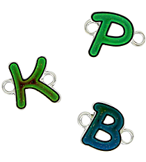 One Mood Changing Initial Charm *Choose Your Initial