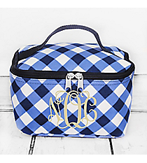 Navy and White Diamond Gingham Case #CHE277-NAVY