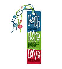 One Faith, Hope, & Love Page Marker #CBM006