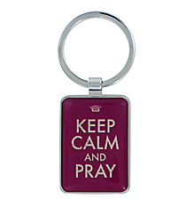 Keep Calm and Pray Keyring #KEP016