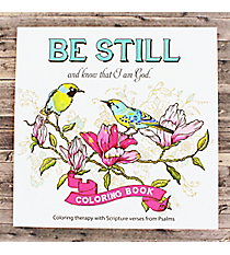 'Be Still...' Adult Coloring Book #CLR004