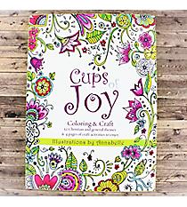 Cups of Joy Adult Coloring Book #CLR019