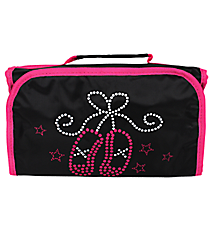 Ballet Slippers Roll Up Cosmetic Bag #CB-907
