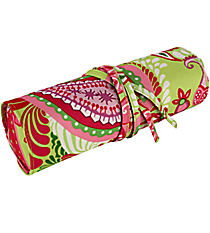 "Paisley Watermelon 8"" Travel Cosmetic Bag #HY008-915"
