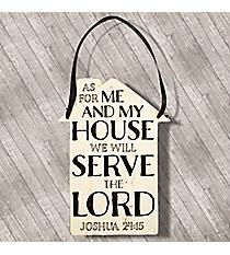 Joshua 24:15 Door/Wall Hanging #DHA003
