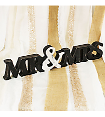 Mr. & Mrs. Tabletop Decor #DSER0042-A