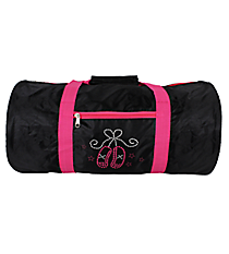 Ballet Slippers Roll Duffle Bag #SD-907