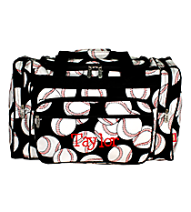 "23"" Baseball Duffle Bag #SKQ423-BLACK"