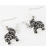 Ivy Design Elephant Earrings #0229T-AS
