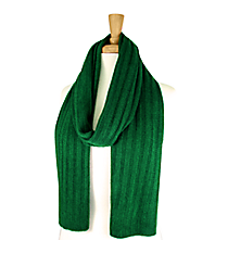Green Long Knit Scarf #EANT8102-GN
