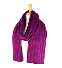 Purple Long Knit Scarf #EANT8102-PP